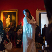 an intimate performance in one of the most beautiful rooms in The Queens House.