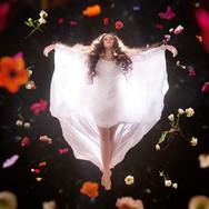 A stunning image by Jason wen of the lead actress Jourdan Powell as Emma Hamilton.