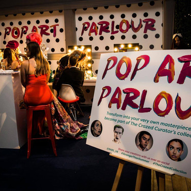 A busy night at the Pop Art Parlour