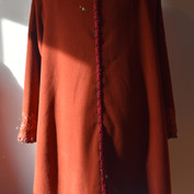 Back view of the coat.