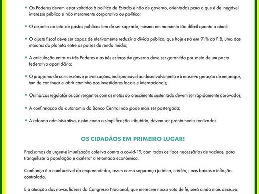 PRIORIDADE AOS BRASILEIROS