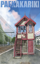 The old Paekakariki signal box