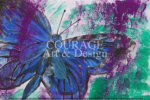 Schmetterling 1 Kunstdruck bestellbar