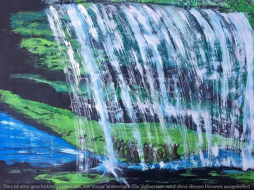 Wasserfall des Heils
