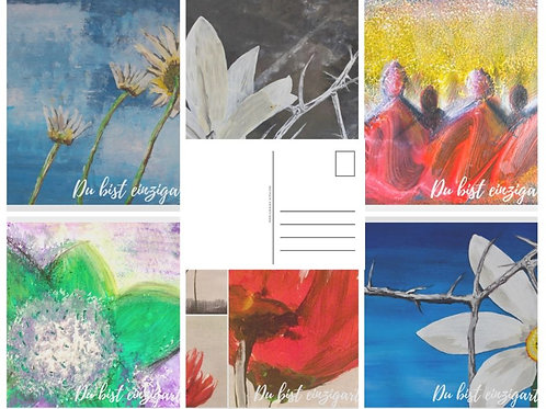 Kunstdrucke Postkarten Set