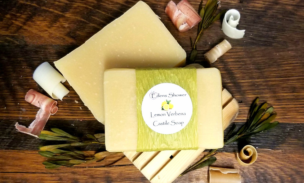 Lemon Verbena Castile Soap