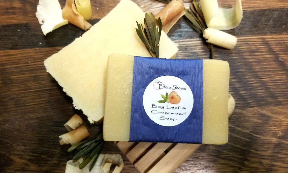 Bay Leaf & Cedarwood Soap