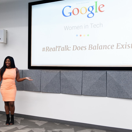 "Netta Jenkins, Keynote Speaker Gives a Powerful Speech About ""Balance"" at Google!"