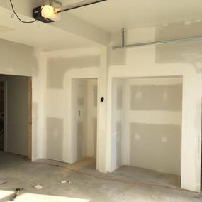 Studio Garage Conversion - During