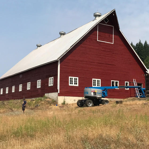 Barn - After Painting