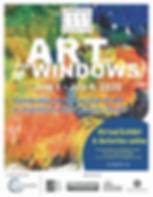 New Canaan CT - Art In The Windows 2020.