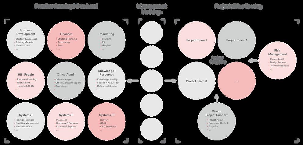 architecture practice organisational structure
