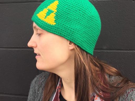 Triforce Beanie Crochet Pattern
