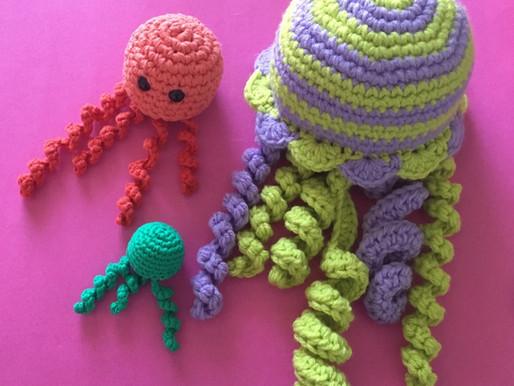 Jellyfish Family Crochet Pattern