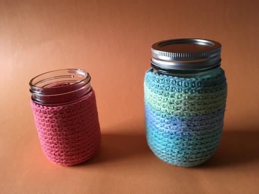 Mason Jar Cozies Pattern