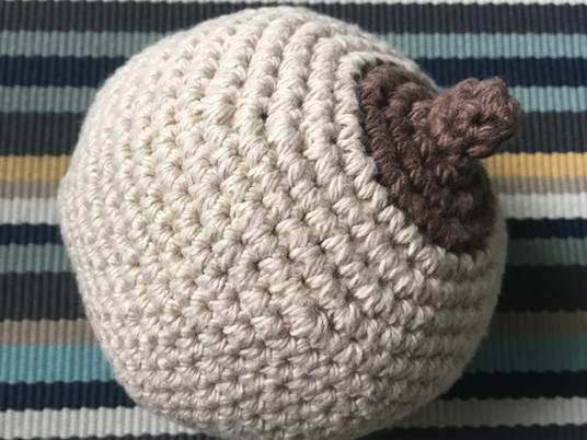 Boobie Stress Ball Crochet Pattern