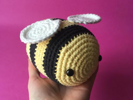 Big Bee Amigurumi Pattern