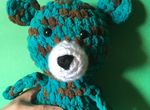 Mr Squish Bear Amigurumi Pattern