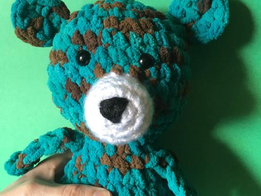 Mr Squish Bear Amigurumi Pattern