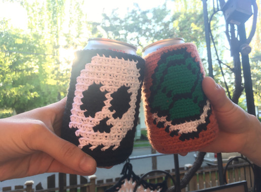 Skull That Beer Cozy