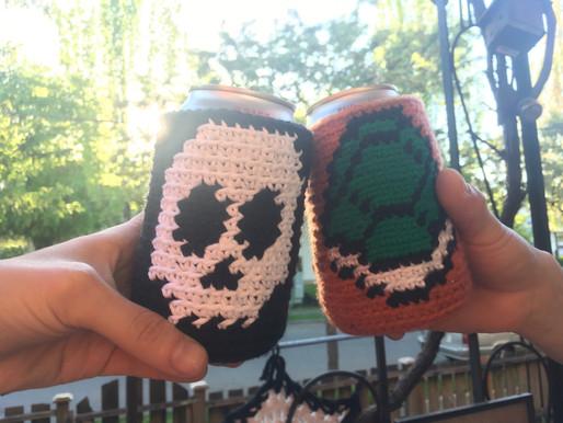 Skull That Beer Cozy
