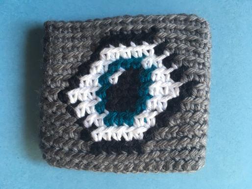Talisman Eye Wristband Pattern