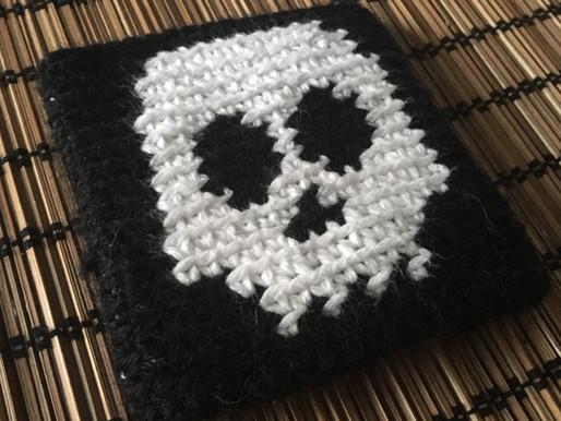 Skull Tapestry Wristband