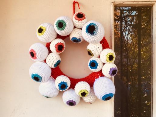 Eyeball Wreath (Halloween)