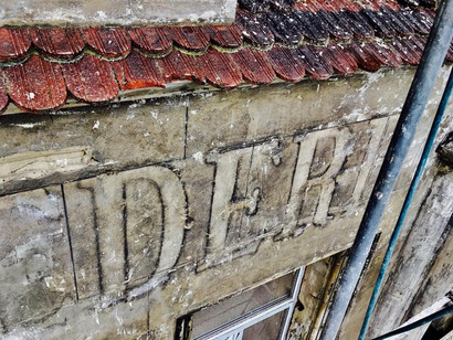 """Надпис на фасаді """"Belvedere"""", відкритий після реставрації"""