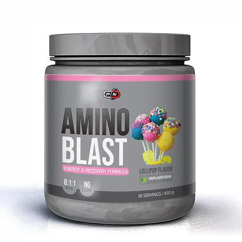 Аминокислоты BCAA 8: 1: 1 AMINO BLAST 450 грамм