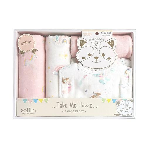 เซ็ทของขวัญเด็กแรกเกิด - Big Welcome (Girl)