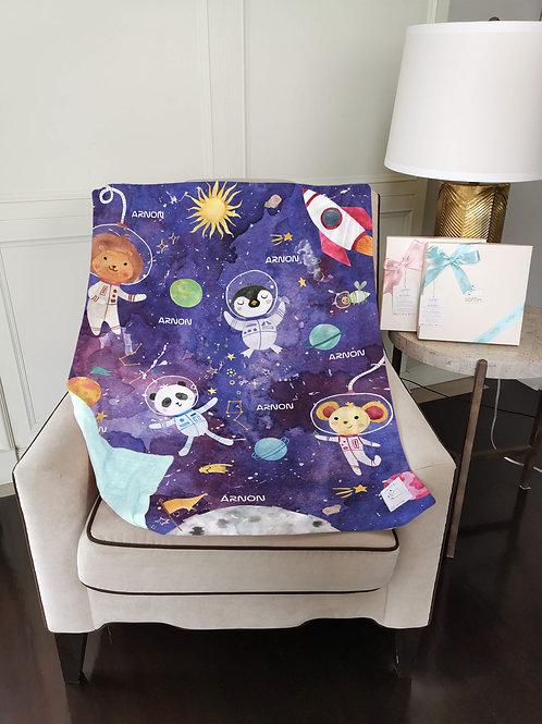 Nap with Me ผ้าห่มเด็กสั่งพิมพ์ชื่อ   N1-Space
