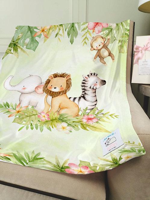 Nap with Me ผ้าห่มเด็กพร้อมส่ง | S3-Safari Fun :: Ready-to-ship