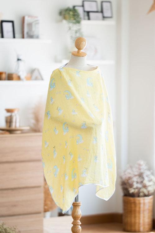 ผ้าคลุมให้นมมัสลินใยไผ่ - Luna Dream