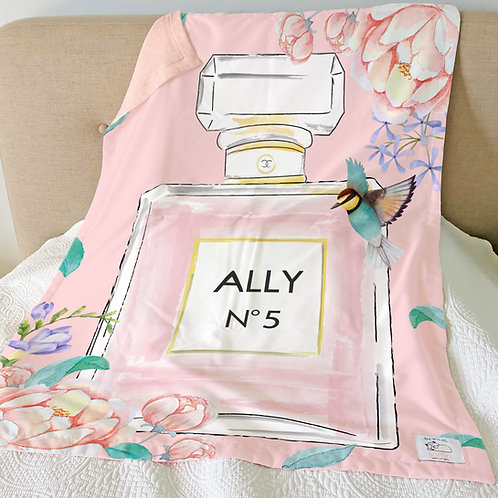 Nap with Me ผ้าห่มเด็กสั่งพิมพ์ชื่อ | N7-Perfume