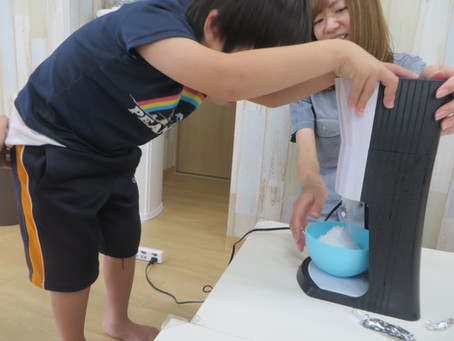 かき氷パーティ★桜堤教室