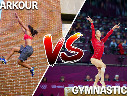 Gymnastics VS Parkour