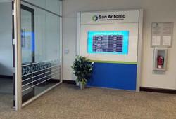 San Antonio FCU - Media Wall