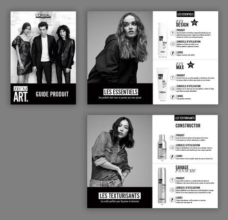 Brochure TechniArt - L'Oréal Professionel