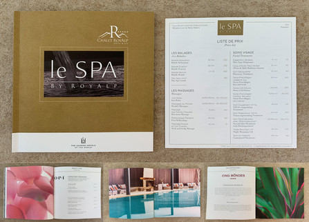 Hôtel Royalp - Book du Spa & liste de prix