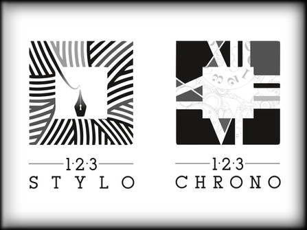 Logos 123 STYLO / 123 CHRONO