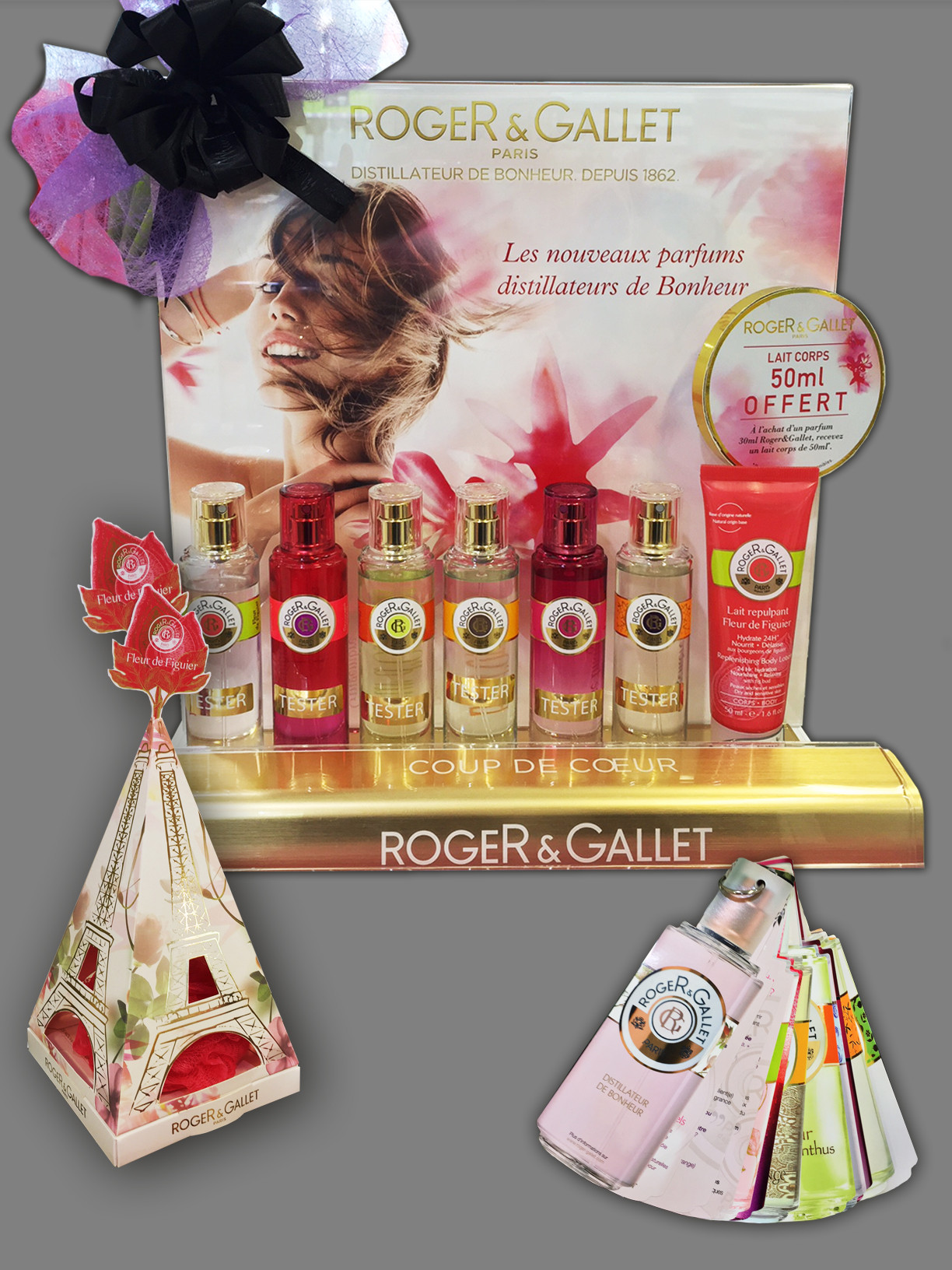 "Animation Roget&Gallet ""Fragance"""