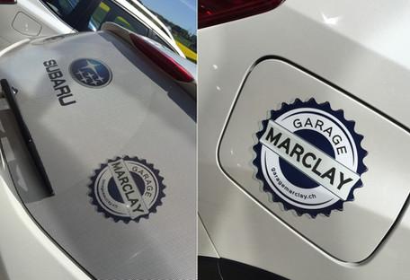 "Stickers ""Garage Marclay"""
