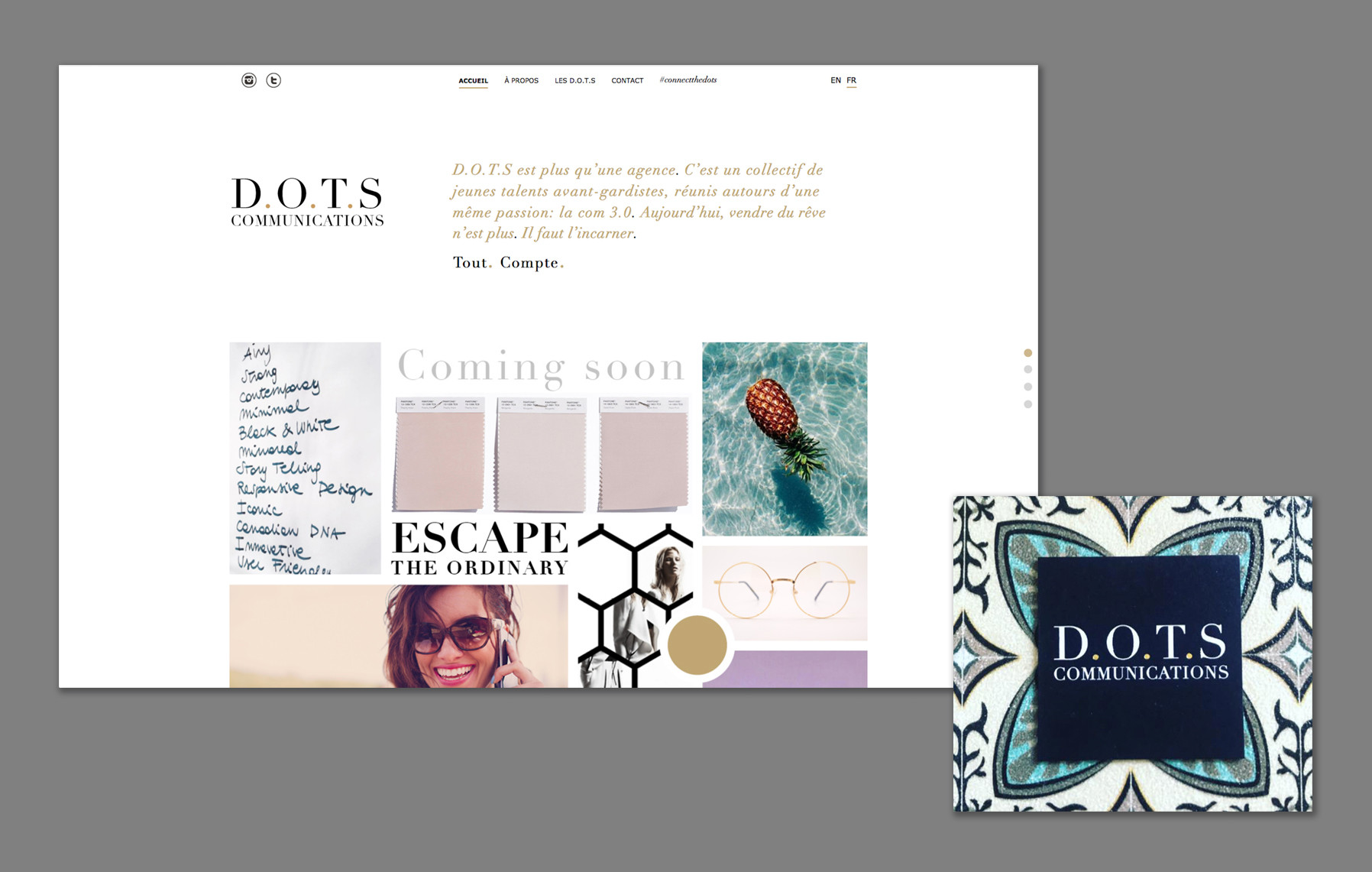 D.O.T.S Communication - Corporate identity