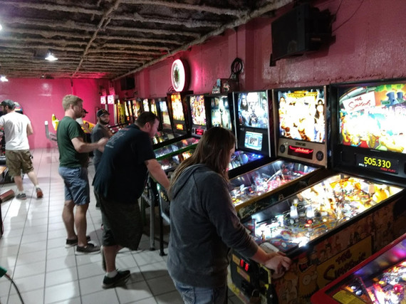 TONS of Pinball to choose from!