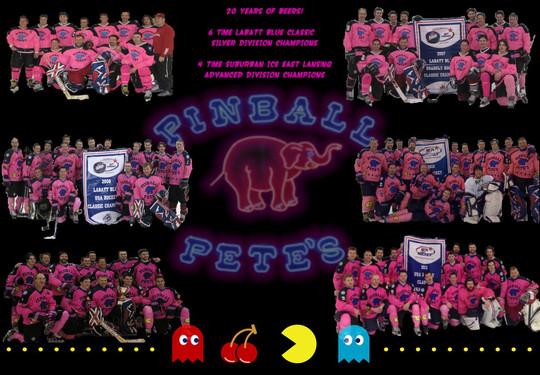 Pinball Pete's Hockey Club