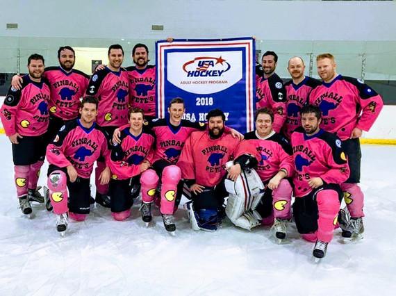 Pinball Pete's Hockey Team
