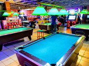 We have lots of pool tables!