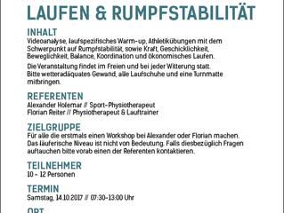 Lauf- und Stabilisationsworkshop in Steyr