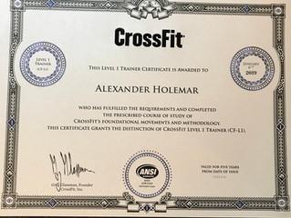 Crossfit-Zertifikat